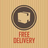Delivery symbol Royalty Free Stock Photo
