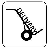Delivery symbol Royalty Free Stock Photography