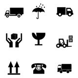 Delivery symbols Royalty Free Stock Image
