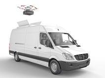Delivery system del fuco Fotografia Stock Libera da Diritti
