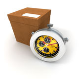 Delivery on time Stock Images