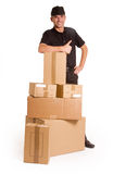 Delivery on time Stock Image