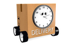 3D DELIVERY concept... Royalty Free Stock Photo