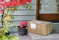 Delivery to Front Door Royalty Free Stock Photography