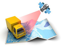 Delivery tracking Stock Images