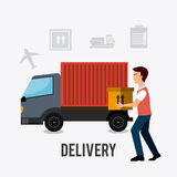 Delivery,transport and logistics business Stock Photos