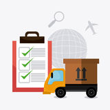 Delivery,transport and logistics business Stock Images