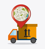 Delivery,transport and logistics business Stock Image