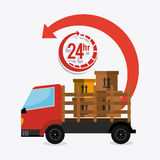Delivery,transport and logistics business Royalty Free Stock Photo