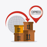 Delivery,transport and logistics business Stock Photo