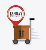 Delivery,transport and logistics business Royalty Free Stock Images
