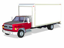 Delivery Truck 1 Stock Image