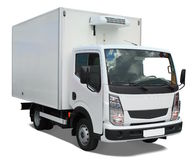 Delivery truck stock photography