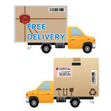 Delivery truck Royalty Free Stock Photo