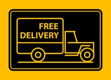 Delivery truck vector illustration
