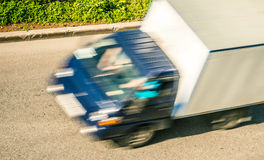 A delivery truck royalty free stock photography