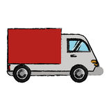 delivery truck cargo transport royalty free illustration