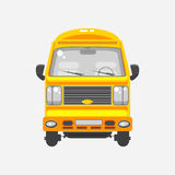 Delivery truck front view Royalty Free Stock Photography