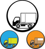 Delivery Truck Icon Vector Stock Photo