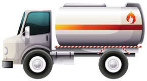 A delivery truck Stock Image