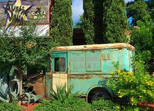 Delivery Truck. Old retired delivery Truck Royalty Free Stock Photo