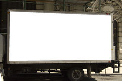 Delivery truck ready for advertising Stock Photos