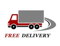 Delivery truck Stock Images