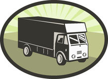 Delivery truck van Stock Photography