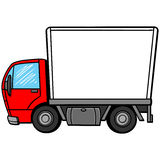 Delivery Truck Royalty Free Stock Photos