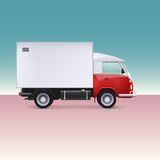 Delivery truck. Stock Photography