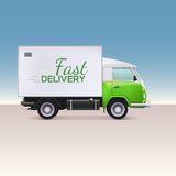 Delivery truck. Royalty Free Stock Image