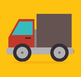 Delivery truck vehicle Stock Photos