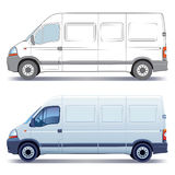 Delivery van vector illustration