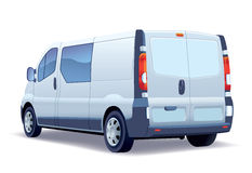 Delivery van Stock Images