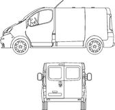 Delivery Van Stock Images