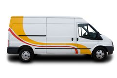 Free Delivery Van Stock Photography - 9926022