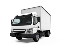 Delivery Van Isolated Royalty Free Stock Images