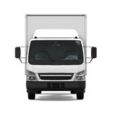 Delivery Van Isolated Stock Image
