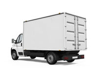 Delivery Van Royalty Free Stock Image