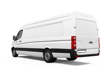 Delivery Van Isolated Stock Photography