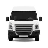 Delivery Van Isolated Royalty Free Stock Image