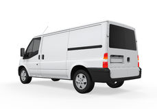 Delivery Van  Royalty Free Stock Photo