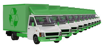 Delivery Vans. Stock Photography