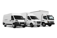 Delivery Vans Stock Photography