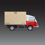 Delivery vehicle truck Royalty Free Stock Photography