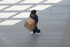 Delivery woman Stock Photo