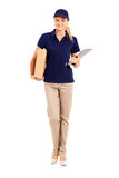 Delivery woman Royalty Free Stock Photo