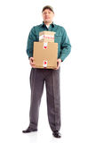 Delivery worker Royalty Free Stock Image