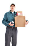 Delivery worker Stock Photography