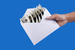Delivery your money Stock Photography